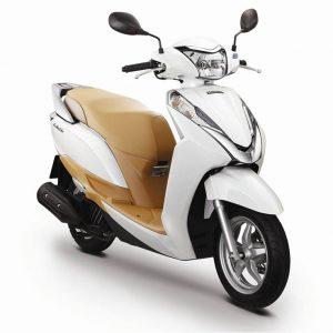Honda Lead trắng - thuê xe máy giá rẻ