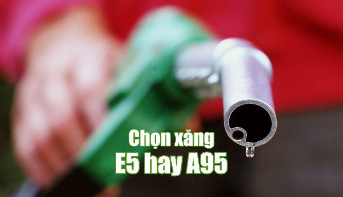 xăng e5 dùng cho xe nào
