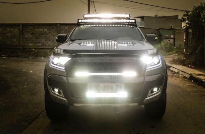 Lắp đèn led cho ô tô có bị phạt không