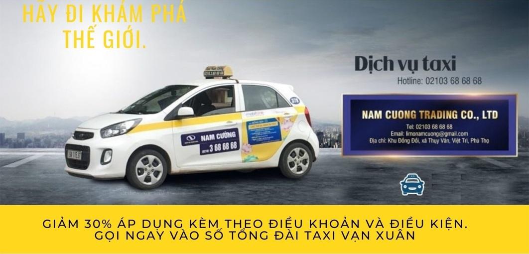 taxi nam cường phú thọ