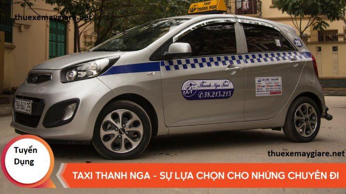taxi thanh nga hà nội số điện thoại tổng đài hotline